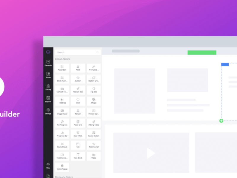 Migliori page builder per creare un sito Web WordPress