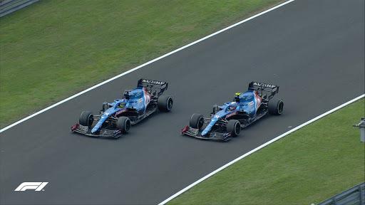 """F1, Ocon """"stupenda sensazione, devo ringraziare Alonso""""."""
